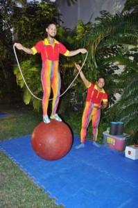 Equilíbrio na bola
