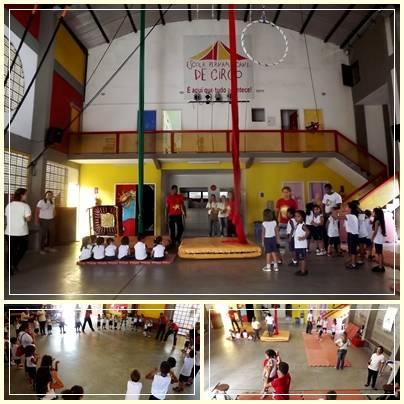 Visita da Escola Santa Luíza de Marillac