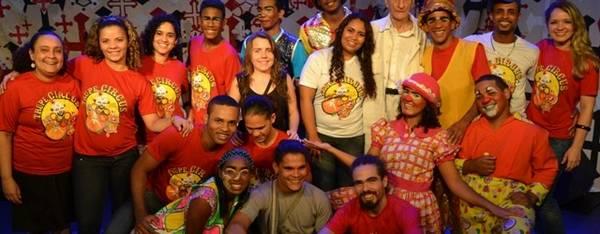 Aula espetáculo com Ariano Suassuna na sede da EPC