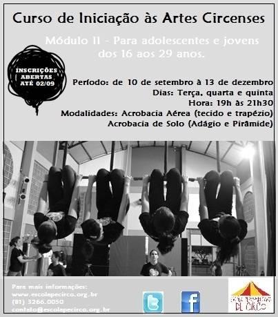"""""""Curso de Iniciação às Artes Circenses"""""""