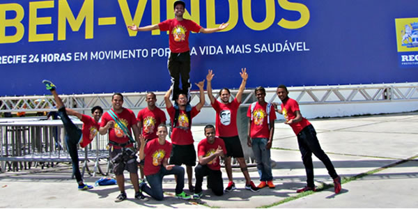 escola Pernambucana de Circo - Virada Esportiva
