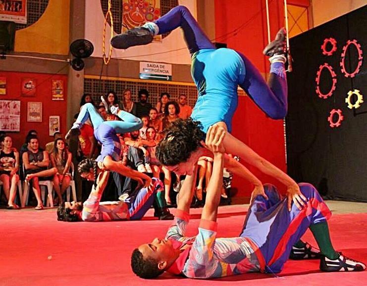 Número de mão a mão com Itala Onã, Matheus Silva, Vanessa Cassiane e Vitor Lima - Trupe Circus