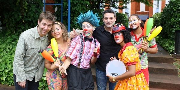 Formadores da Rede Circo do Mundo Brasil