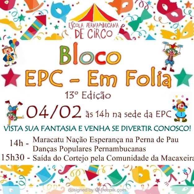 Bloco EPC em Folia 2016