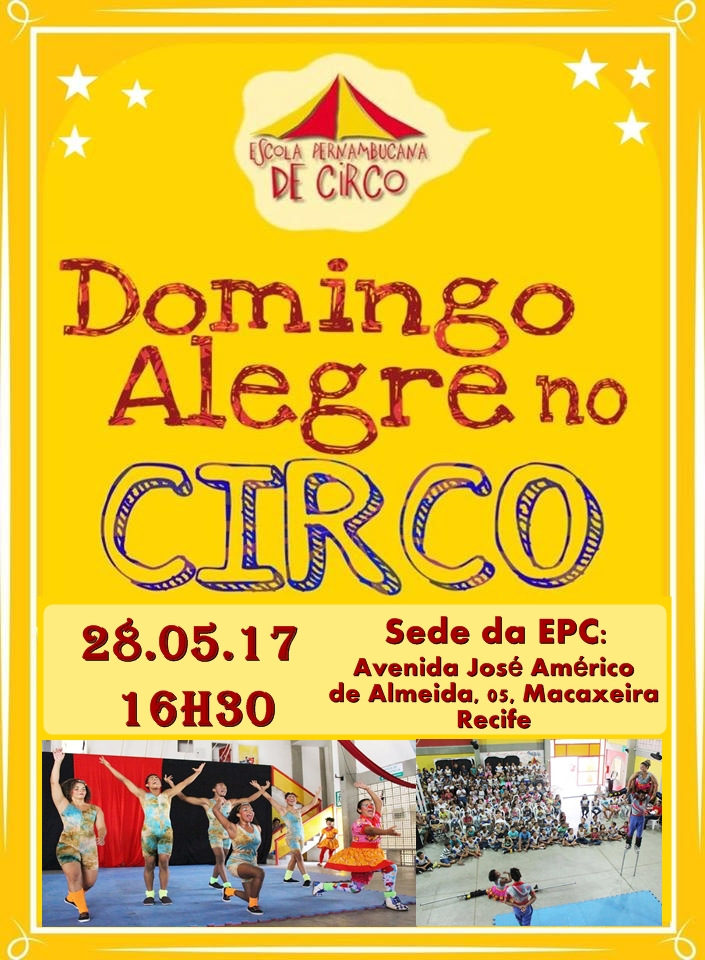 domingo alegre no circo